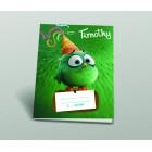 Füzet 14-32 A5 1.o. Angry Birds vonalas Timothy